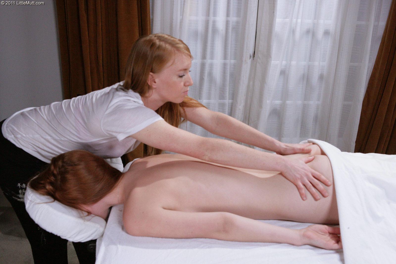 Lesbian Teen Massage