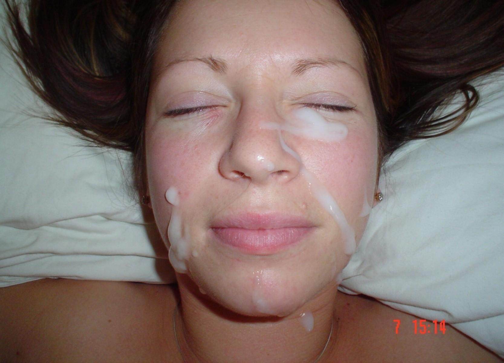Cum homemade facials ebony