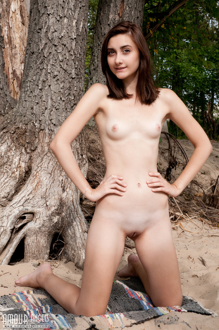 Tree cute girl orgy - 3 part 3