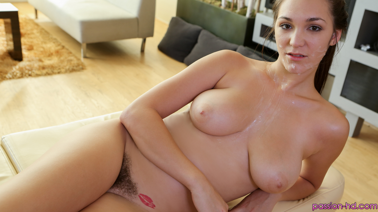 Busty euro beauty gets the snot fucked out of her - 3 3